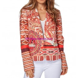 jacket print mid season 101 idées 312VE