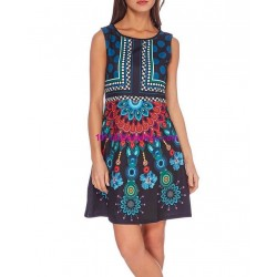 dress tunic print summer 101 idées 105Y