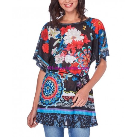 top tunic print summer 101 idées 1604Y boutique clothing