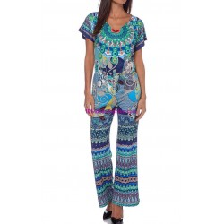shop jumpsuits summer ethnic 101 idées 168VRA outlet