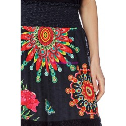 gonna lunga etnici 101 idees 1612Y marca simile desigual