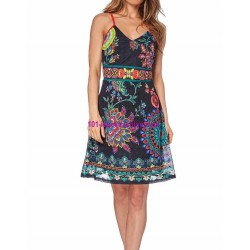 dress summer ethnic chic 101 idées 1618Y