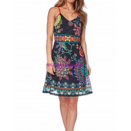buy dress summer ethnic chic 101 idées 1618Y online