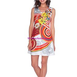 dress tunic print summer 101 idées 604Y