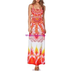 maxidress ethnic summer 101 idées 274VRA