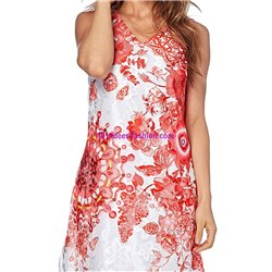 dress tunic lace summer 101 idées 1509Y indian clothes online