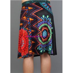 skirt print floral 101 idees 131VRA indian clothes online