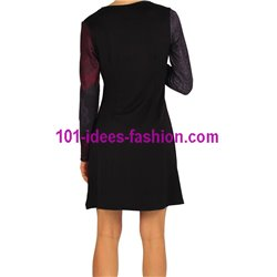 dress tunic print mid season 101 idées 405VC New winter collection