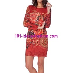 dress tunic suede 101 idées 228VMW New winter collection 2017 2018