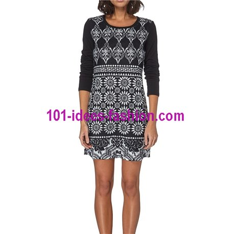 dress tunic lace winter 101 idées 071W New winter collection 2017 2018