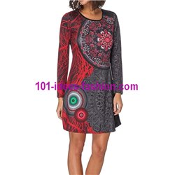 dress tunic print mid season 101 idées 430 paris french