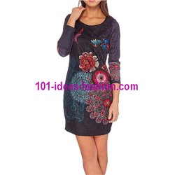 dress tunic lace ethnic winter 101 idées 237W