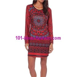 dress tunic mandalas winter 101 idées 308BOIN paris french