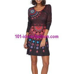 Dress tunic ethnic winter 101 idées 321IN paris french