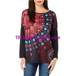 t-shirt top blusas inverno marca 101 idees 275 in