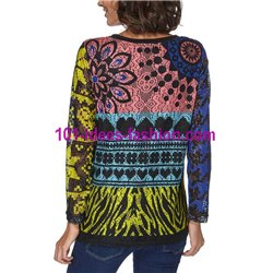 sweat top lace winter 101 idées 062W paris french