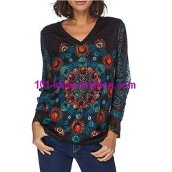 top sweat rendada inverno mandalas 101 idées 079W