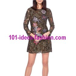 dress tunic lace chic 101 idées 918W christmas clothes and new year