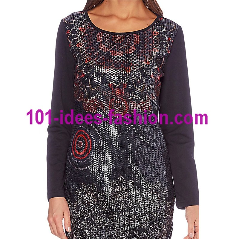 dress tunic sequins 101 id es 253w christmas clothes new year. Black Bedroom Furniture Sets. Home Design Ideas