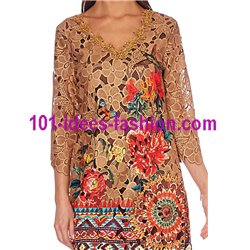 dress lace guipure ethnic summer 101 idées 1131WVRA Spring Summer 2018