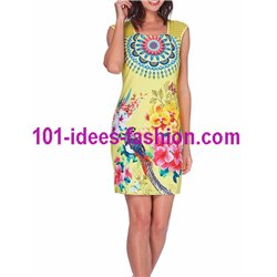 dress tunic lace ethnic chic summer 101 idées 613Y Spring Summer 2018