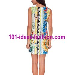dress tunic lace summer ethnic butterflies 101 idées 381VRA Spring