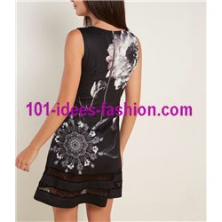 dress tunic lace summer ethnic floral 101 idées 2301Y Spring Summer