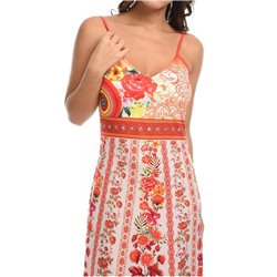 maxidress ethnic floral summer 101 idées 807Y womens clothes sale