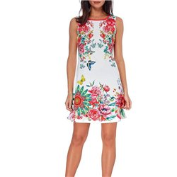 dress tunic summer print floral 101 idées 221Y clothes for women