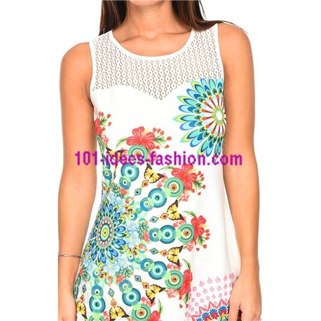 1d3f9504fd Reduced price! dress tunic lace ethnic floral plus size 101 idées 635YL  womens