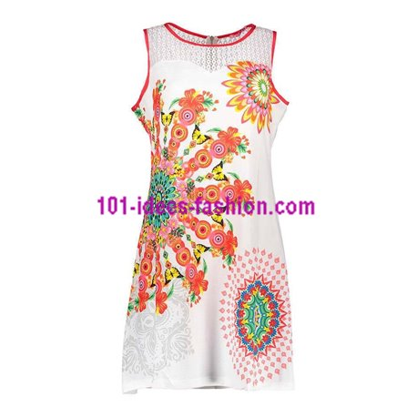 b109086963 Reduced price! dress tunic lace summer ethnic floral 101 idées 637Y womens  clothes