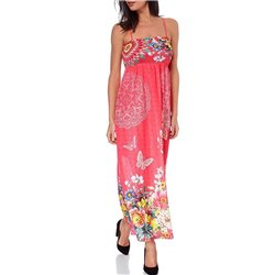 maxidress ethnic floral summer 101 idées 1650Y womens clothes sale