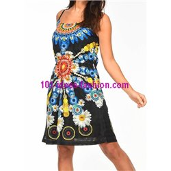 43f9dea9f89 dress tunic ethnic print summer 101 idées 1632Y clothes for women