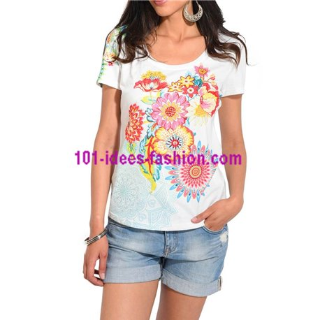 VETEMENT femme Fashion top tshirt grand taille