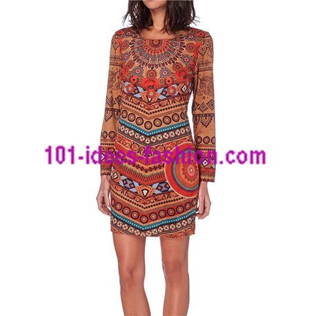 dress tunic suede 101 idées 286CMW clothes for women
