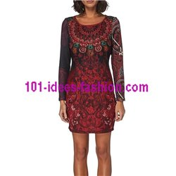 dress tunic lace winter 101 idées 235W clothes for women