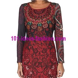 kleider tuniken Spitze winter 101 idées 235W boho hippie fashion