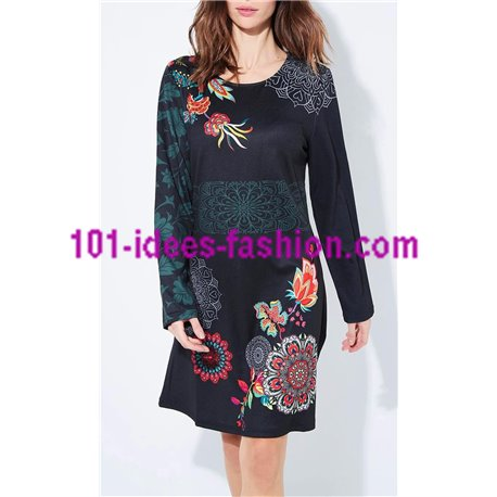 649c49fcf41 Reduced price! dress ethnic floral winter 101 idées 652Z clothes for women