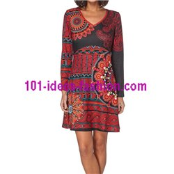 dress tunic mandalas winter 101 idées 194Z clothes for women