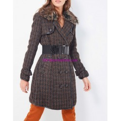 winter coat with fur brand 101 idees 83743 store uk