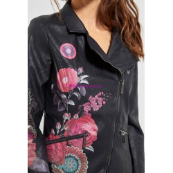 jacke Kunstleder perfecto ethno 101 IDEES 1950W fashion
