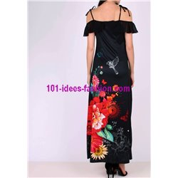boho chic maxidress floral boho chic summer 101 idées 897P clothes