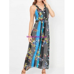 boho chic maxidress floral boho chic summer 101 idées 4215P clothes