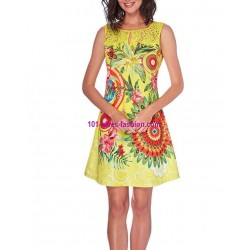 dress tunic lace summer ethnic floral 101 idées 501Y