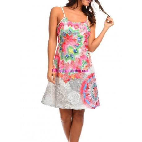 buy now dress tunic lace summer ethnic 101 idées 398VRA clothes for