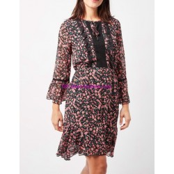 buy now dress floral boho chic 101 idées 4804P clothes for women