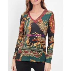 boho chic camiseta top invierno etnica 101 idées 2195Z ropa fashion de