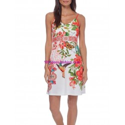 buy now dress tunic ethnic floral print summer 101 idées 516K clothes