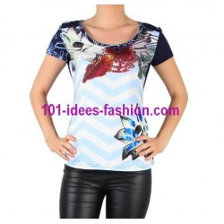 camiseta top verano marca 101 idees 8445
