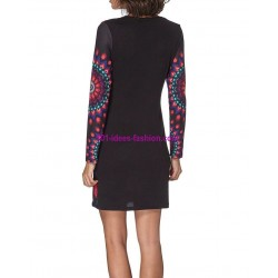 dress tunic geometric winter 101 idées 313IN french fashion